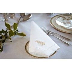 Golden Tree Napkins