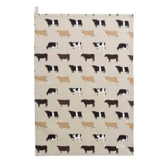 Cows Tea Towel