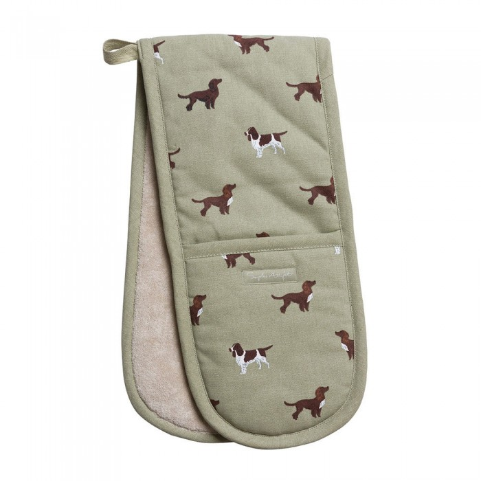 Spaniels Double Oven Glove