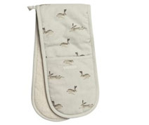 Hares oven gloves