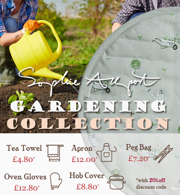 Heart to Home presents the Sophie Allport Gardening Collection