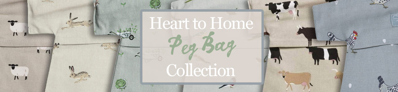 Peg Bags lovingly hand selected by Heart to Home