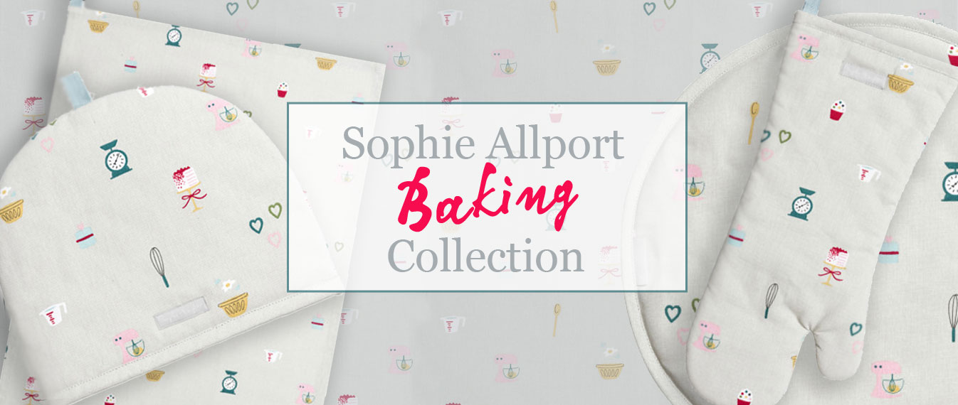 Baking linens collection by Sophie Allport
