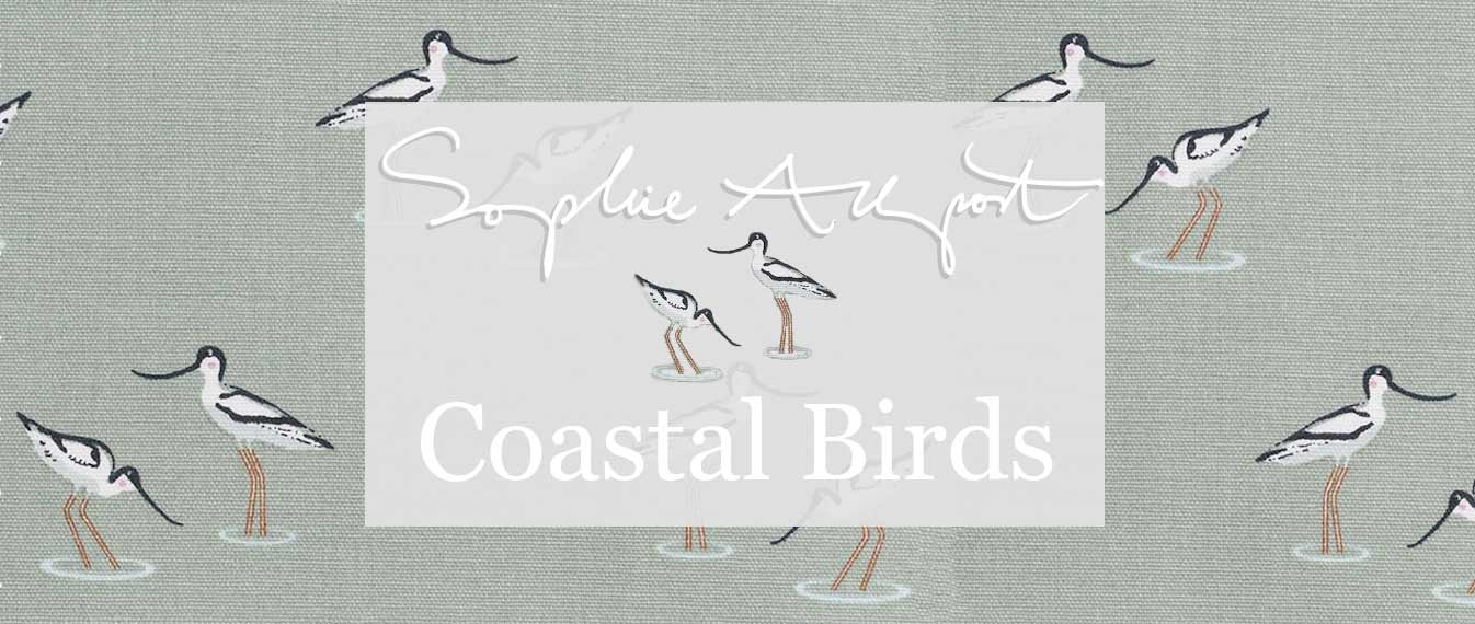 Sophie Allport's gorgeous coastal birds range is perfect for any home or kitchen, for coastal homes and bird lovers alike