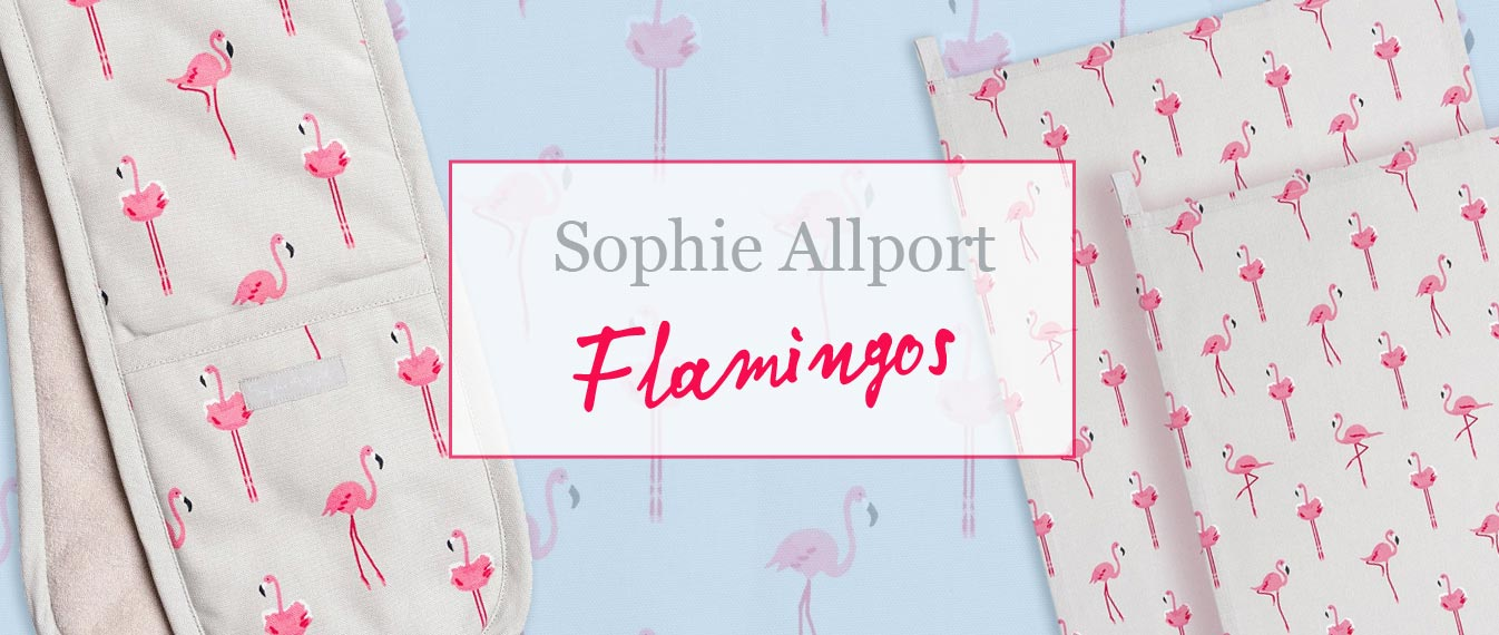 New: Summer 2018: Sophie Allport Flamingos print