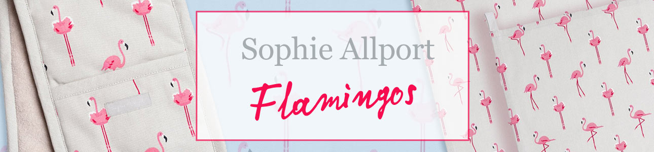 Flamingos collection by Sophie Allport